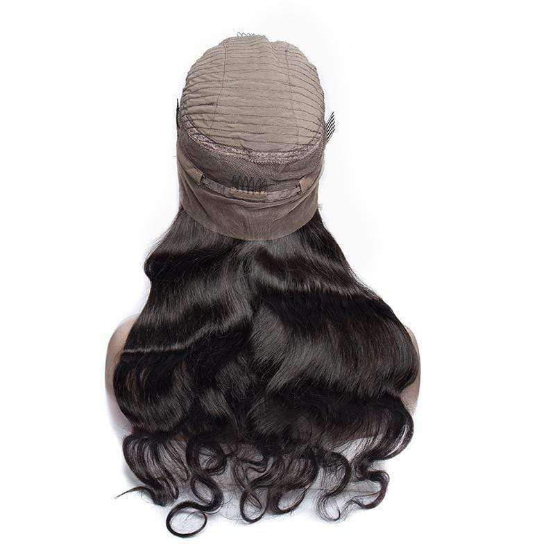 Queen Hair Inc Wholesale 10a+ 150 Density Virgin Hair Body Wave 360 Lace Frontal Wigs 100% Human Hair
