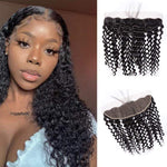 Queen Hair Inc 13x4 Lace Frontal Free Part Deep Wave 100% Human Hair