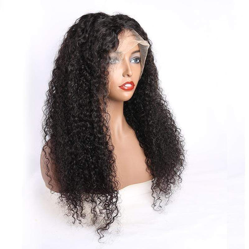 Queen Hair Inc Wholesale 10a+ 150 Density Virgin Hair 13*6 HD Lace Frontal Wigs Deep Wave invisible lace 100% Human Hair