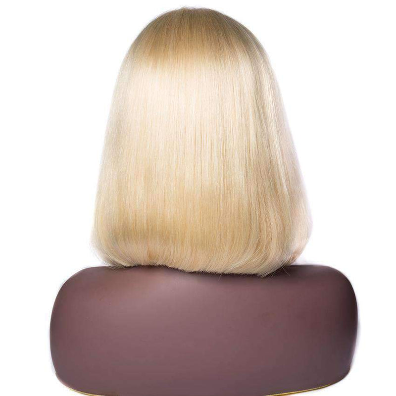 Queen Hair Inc 10a+ 150% Virgin Bob Wig #613