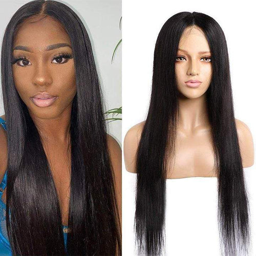 Queen Hair Inc 10a+ T Part Lace Frontal Wig 150% Deep Wave #1B