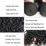 Queen Hair Inc 9A 2/3 Bundles + 13x4 Lace Frontal Water Wave
