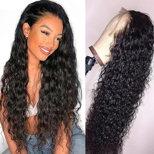 Queen Hair Inc Best Quality 10A 360 Lace Frontal Wig 150 Density Water wave