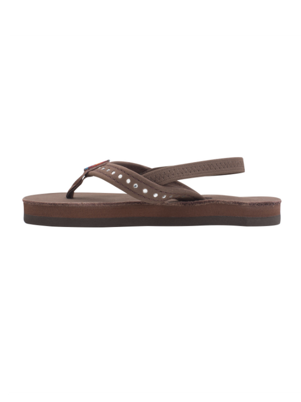 Kids Crystal Collection Leather Sandal