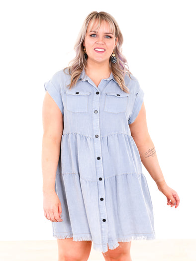 Curvy Mark My Words Dress