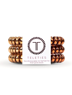 Teleties Caramel Copper - Small