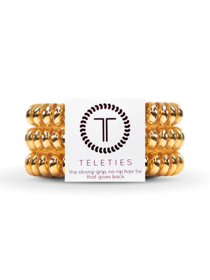 Teleties Champagne Gold - Small