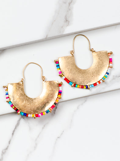 Colorful Arch Hoops