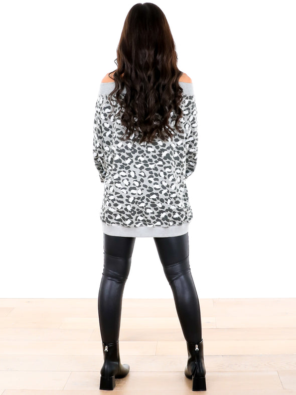The Way I Am Leopard Sweater