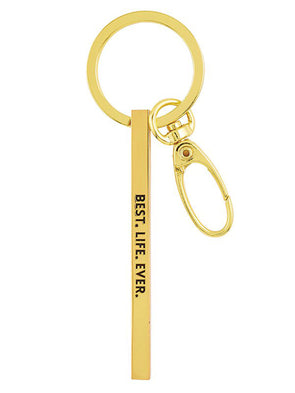 Best Life Ever Bar Keychain