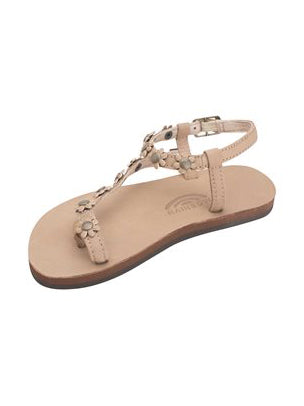 Kids Delilah Flower Sandal - Sierra Brown