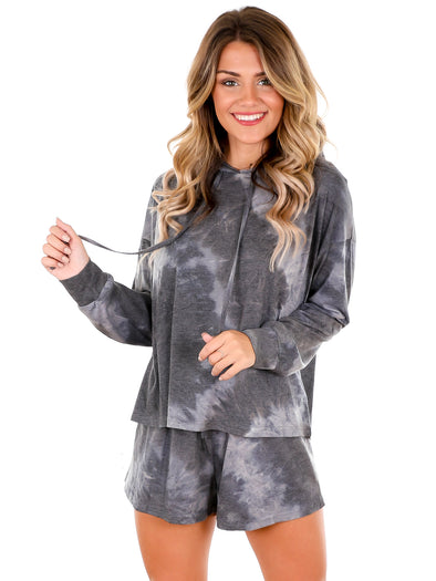 Strut Like You Mean It Charcoal Two Piece Set