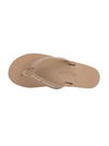 Crystal Collection Leather Sandal - Sierra Brown