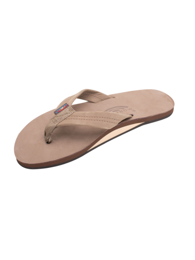 Premier Leather Sandal - Dark Brown