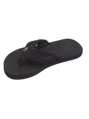 Kids Grombow Rubber Sandal - Black