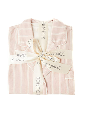Z Supply Dusty Rose State Stripe PJ Set
