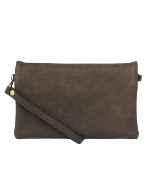 Charcoal New Kate Crossbody Clutch