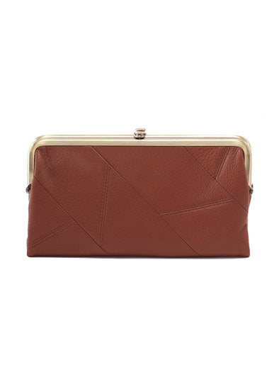 Lauren Toffee Clutch Wallet