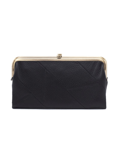 Lauren Black Clutch Wallet