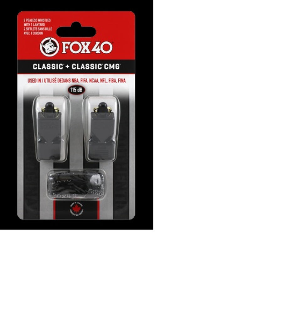 Fox40  Classic + Classic CMG Two Pack