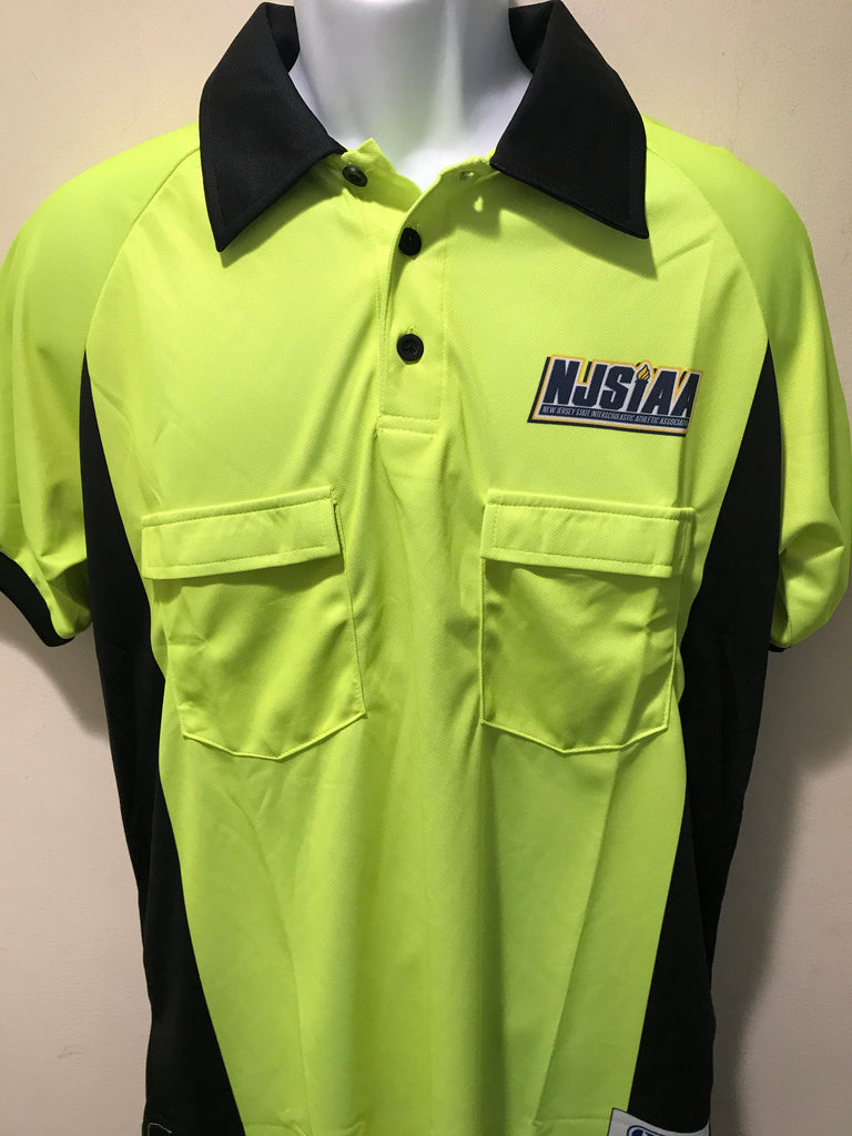 NJSIAA Short Sleeve Soccer Referee Shirt
