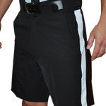 Smitty Official Shorts-Black w/White Stripe