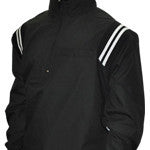 Smitty Black Open Bottom Pullover Umpire Jacket