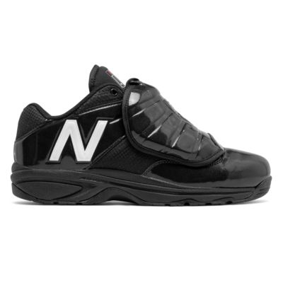 New Balance V3 MLB Low Cut Plate Shoe - Black/White