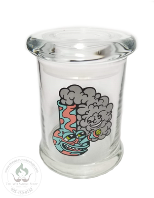 420 Science Pop Top Jar - Medium-storage-The Wee Smoke Shop