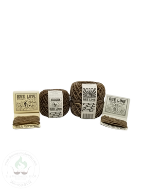 Bee Line Hemp Wick (Original/Thick: 9ft or 200ft spool)-hempwick-The Wee Smoke Shop