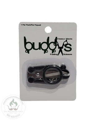 Buddys Folding Scissors-Grinder-The Wee Smoke Shop