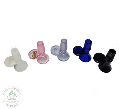 Cheech (14mm) Glass Bowl: Solid Colours-Bowls-The Wee Smoke Shop