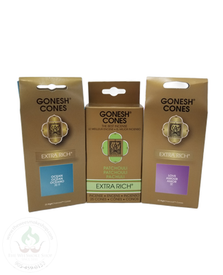 Gonesh Cones-incense-The Wee Smoke Shop