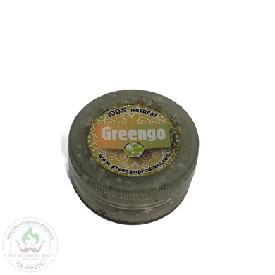 Greengo 2 Part Acrylic Grinder-Grinder-The Wee Smoke Shop