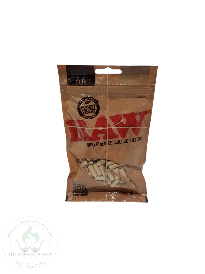 Raw Cellulose Filter Tips-tips-The Wee Smoke Shop