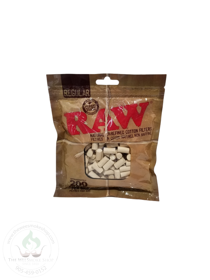 Raw Cotton Filter Tips-tips-The Wee Smoke Shop