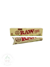 RAW Organic Hemp Cones: 1 1/4 (6 pack or 32 pack)-cones-The Wee Smoke Shop