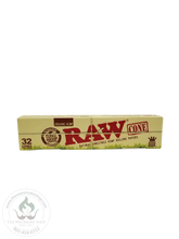 RAW Organic Hemp Cones (3 or 32 pack)-cones-The Wee Smoke Shop