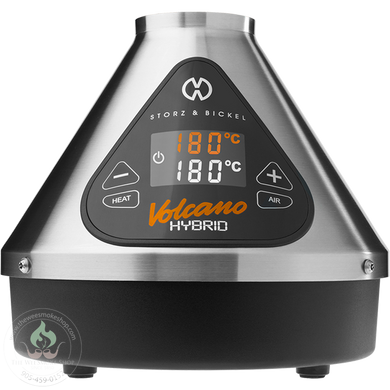 Storz & Bickel Volcano Hybrid-Herbal + Conentrate Vapourizer-The Wee Smoke Shop