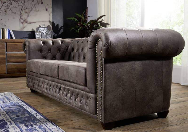 Canapea Chesterfield  Brown 3
