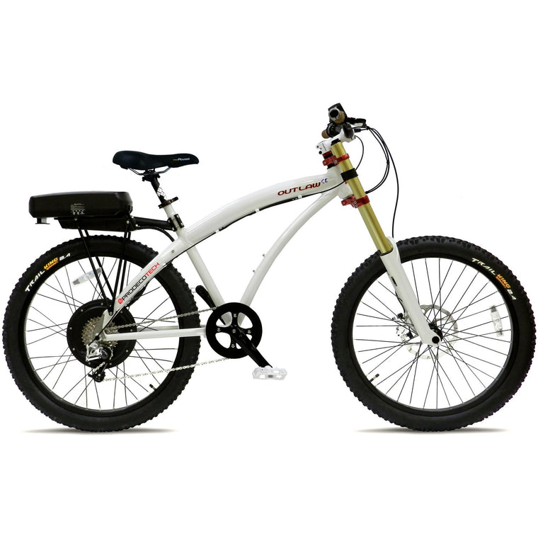 Prodecotech Outlaw SE 750 Watt Mountain Bike - Electric Bikes US