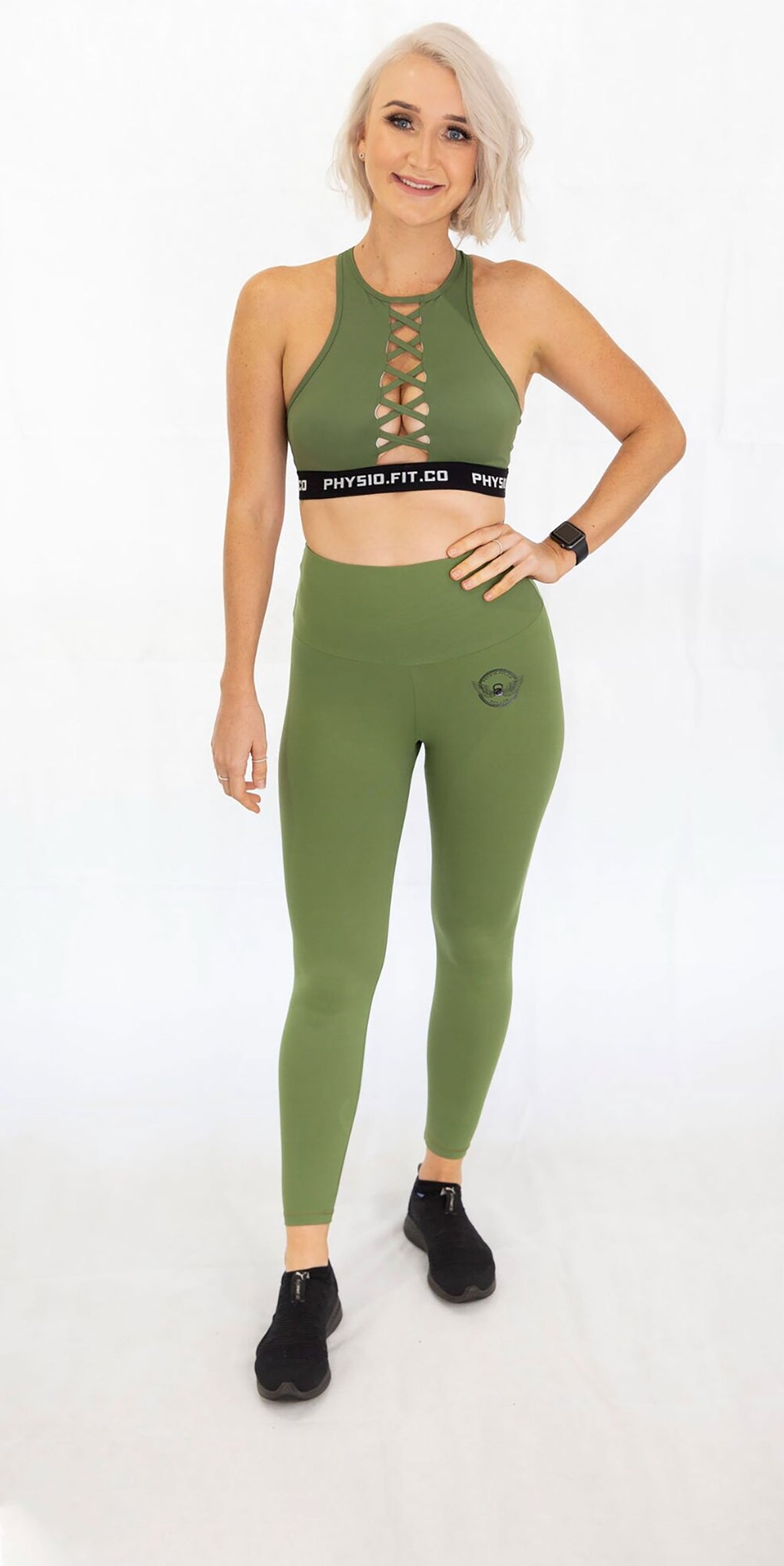 The Exposed Crop in Khaki