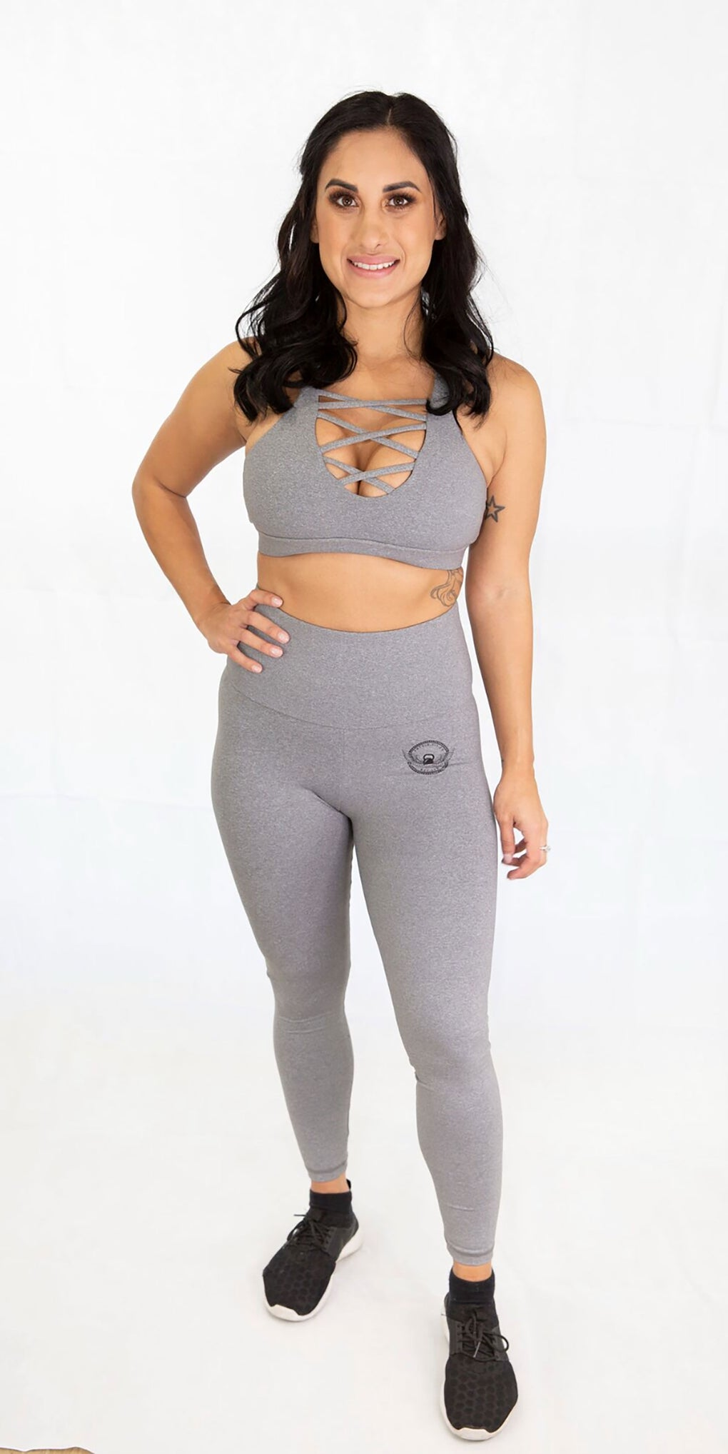 The Luxe Crop in Grey