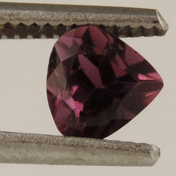 1.35 cts VVS rubelite tourmaline faceted pear cut Brazil