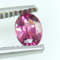 0.65 CTS rubellite pink  tourmaline oval cut, mozambique