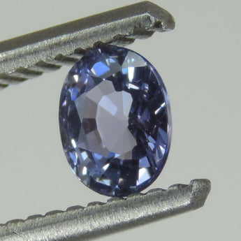 0.61 CTS purple tanzanite lot oval cut, Tanzania