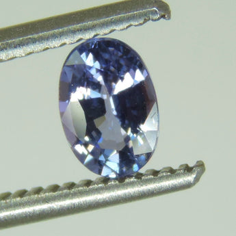 0.73 CTS purple tanzanite lot oval cut, Tanzania