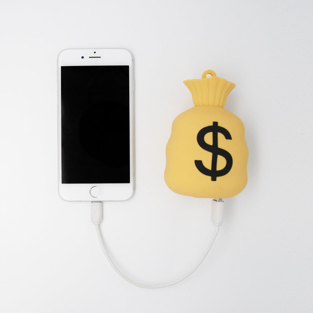 Money Bag Emoji Power Bank