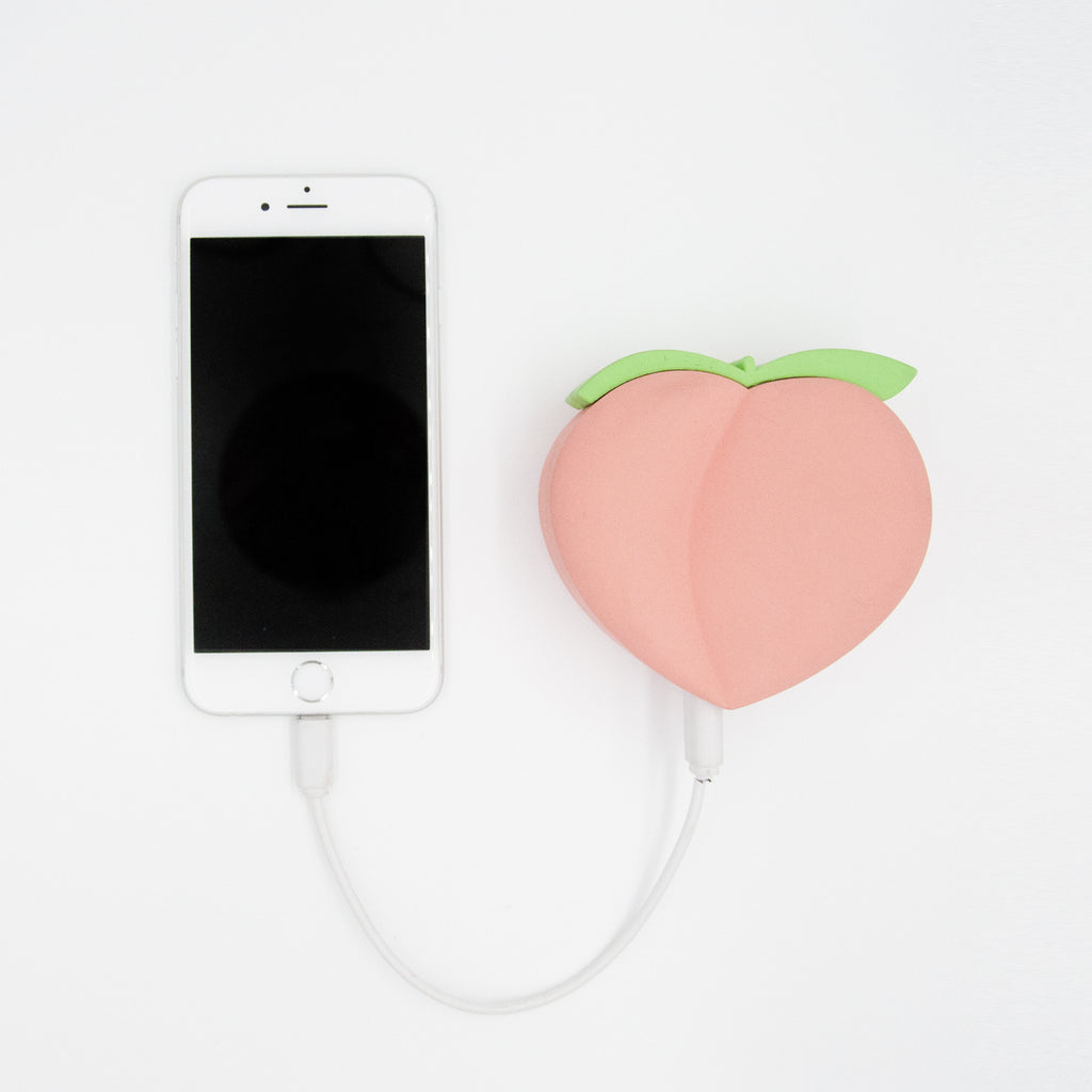 Peaches Emoji Power Bank