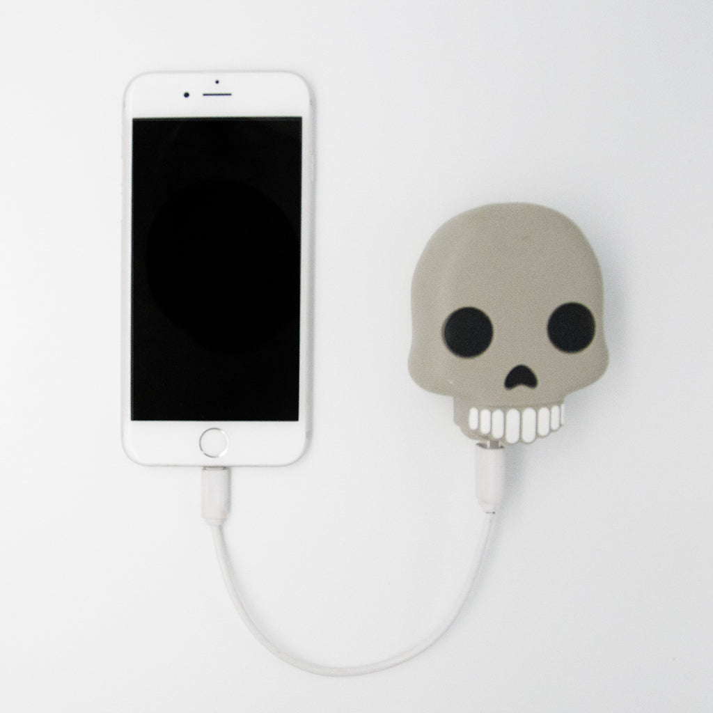 Skull Emoji Power Bank
